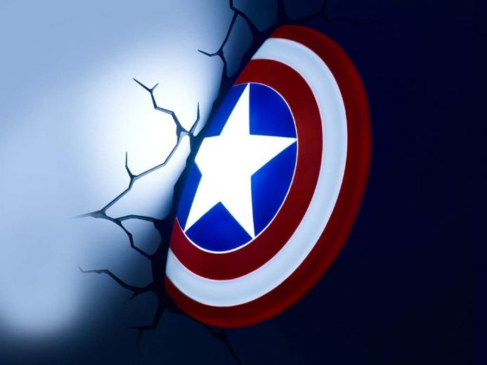 Captain America Shield 3D LED Light | Buy it now